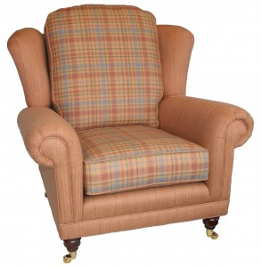 HARROW TARTAN CHAIR A